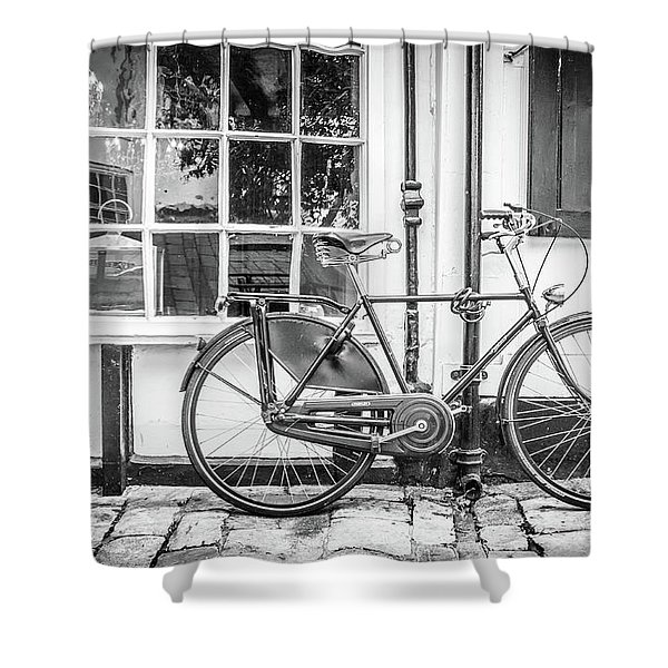 Bicycle. Shower Curtain