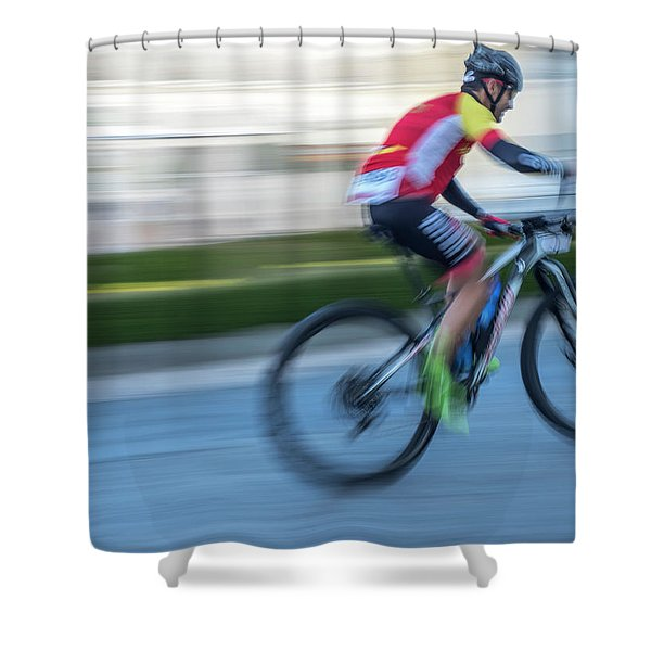 Bicycle Race Shower Curtain