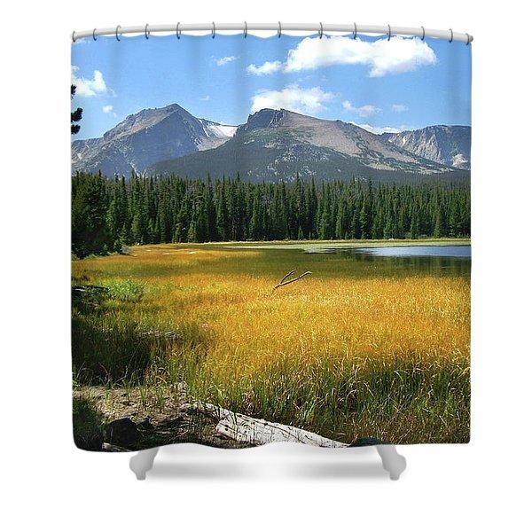 Autumn At Bierstadt Lake Shower Curtain