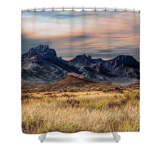 Big Bend Hill Tops Shower Curtain