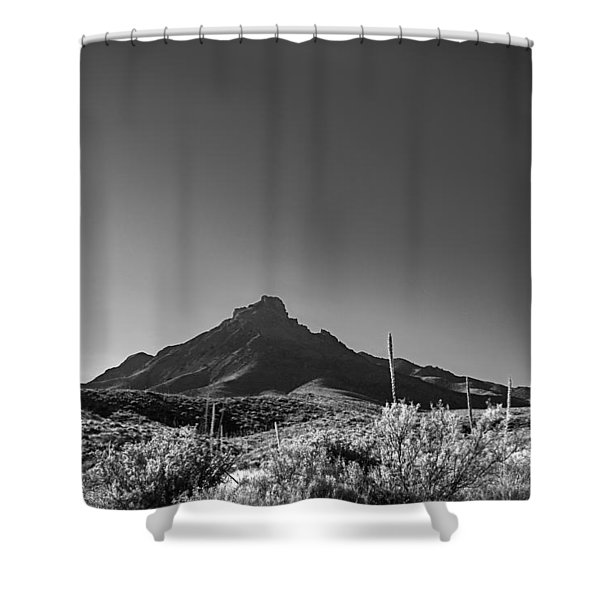 Big Bend Np Image 134 Shower Curtain