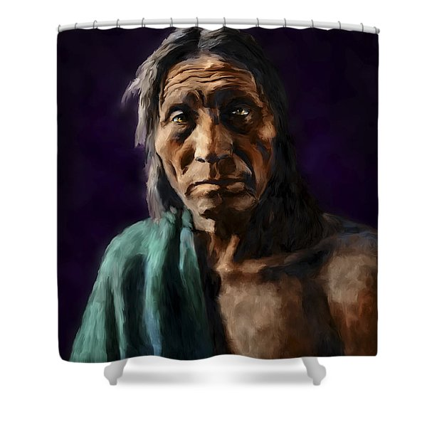 Big Head Shower Curtain