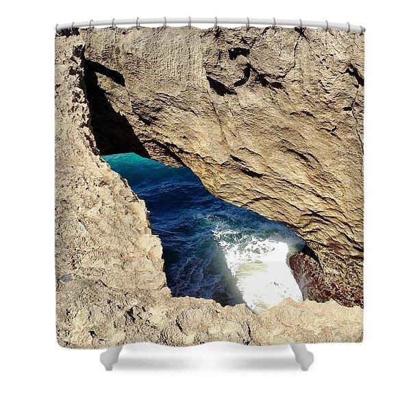 Big Hole  Shower Curtain