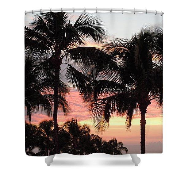 Big Island Sunset 1 Shower Curtain