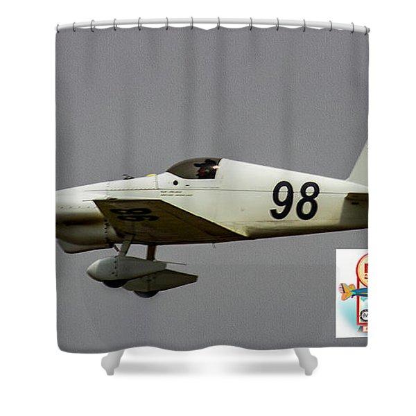 Big Muddy Air Race #98 Shower Curtain