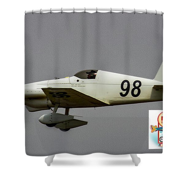 Big Muddy Air Race #98 Shower Curtain