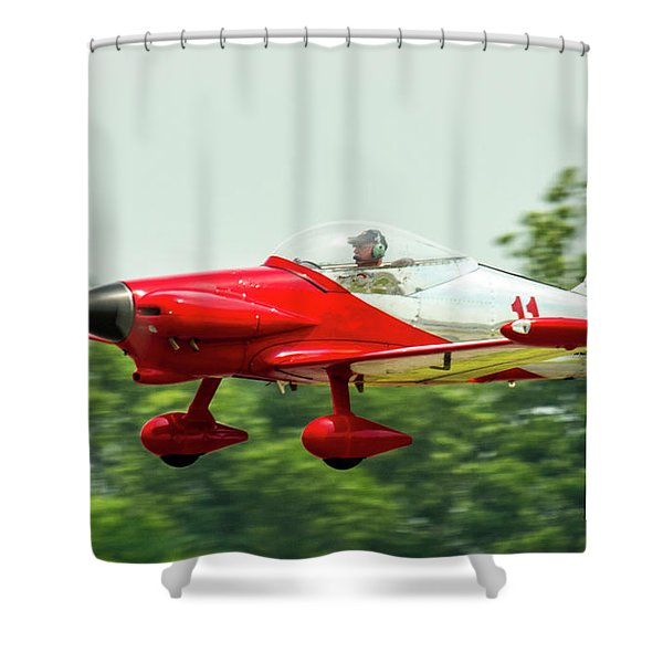 Big Muddy Air Race Number 11 Shower Curtain