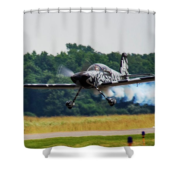 Big Muddy Air Race Number 14 Shower Curtain