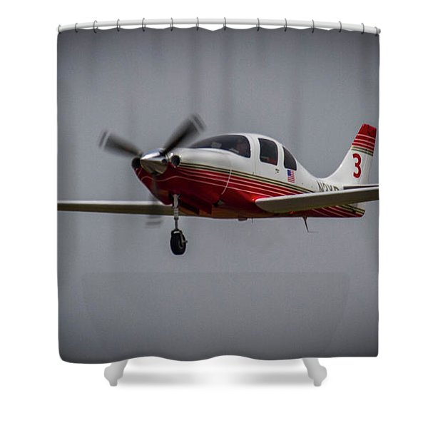 Big Muddy Air Race Number 3 Shower Curtain