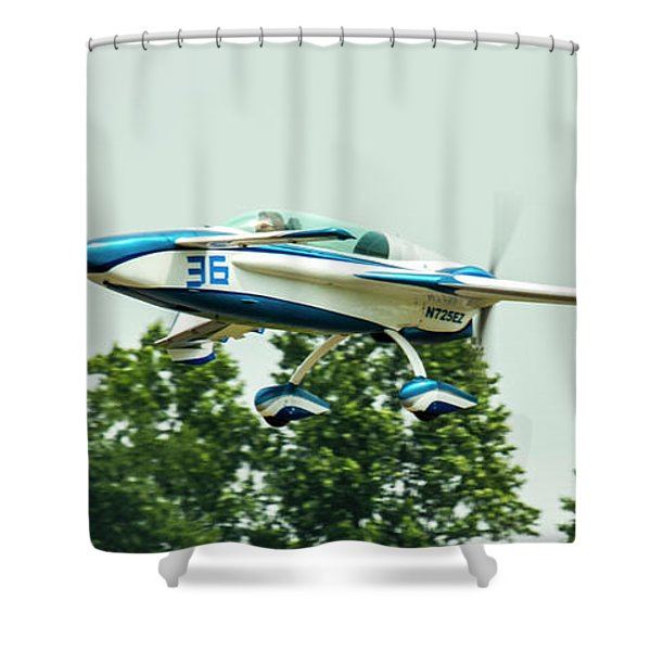 Big Muddy Air Race Number 36 Shower Curtain