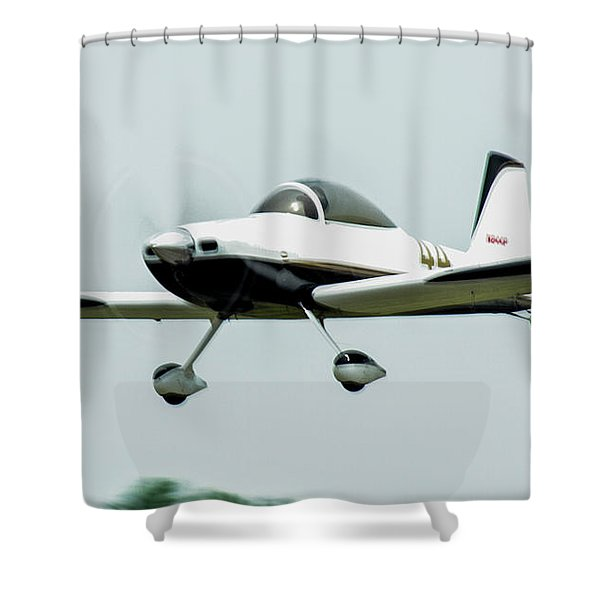 Big Muddy Air Race Number 44 Shower Curtain