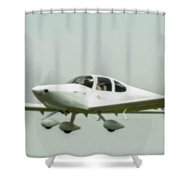 Big Muddy Air Race Number 6 Shower Curtain