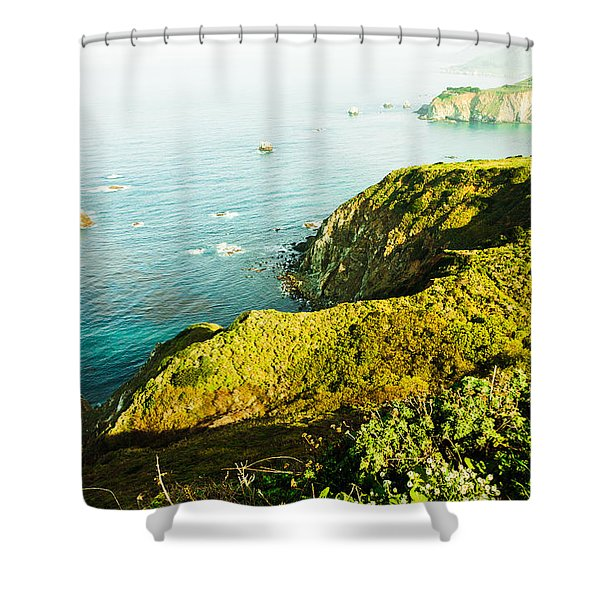 Big Sur-2 Shower Curtain