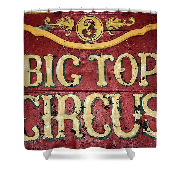 Big Top Circus Shower Curtain