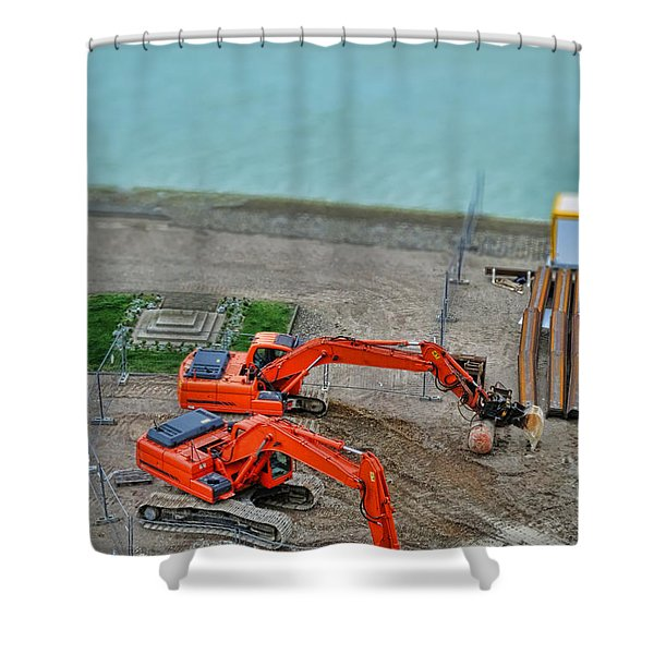 Big Toys Shower Curtain