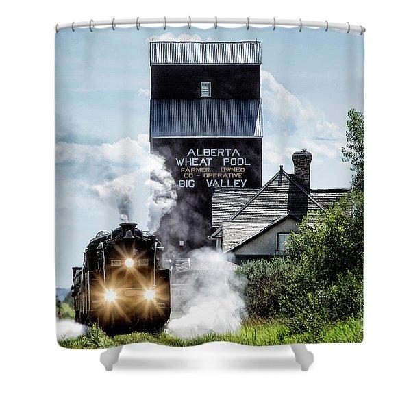 Big Valley Steam Shower Curtain