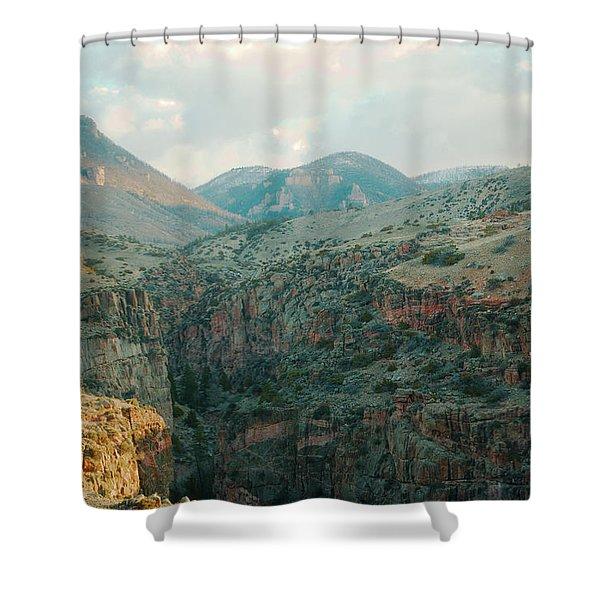 Bighorn National Forest Shower Curtain