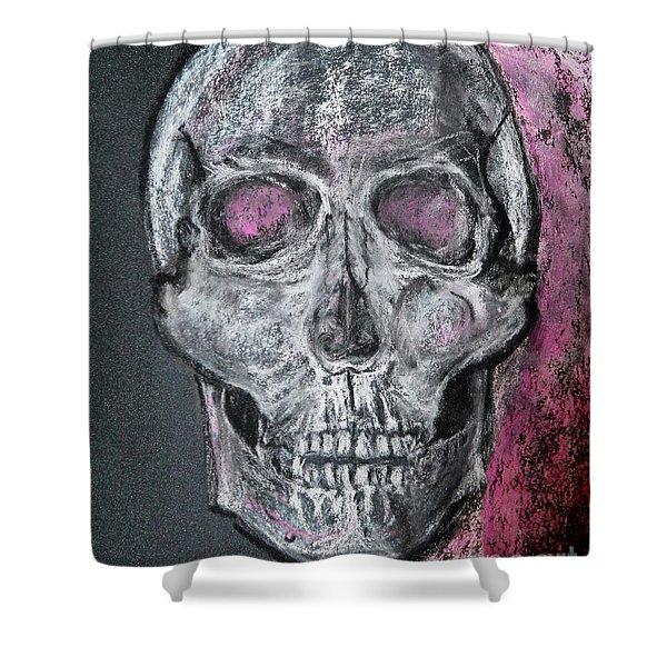 Billie's Skull Shower Curtain