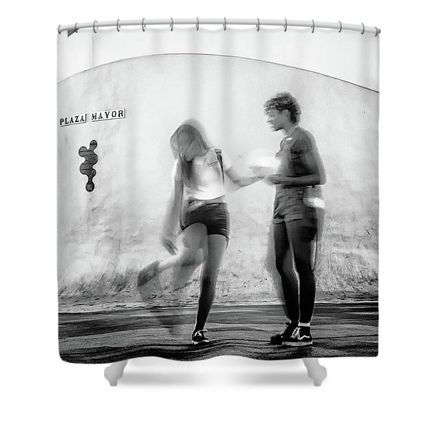 Billy Jean Shower Curtain