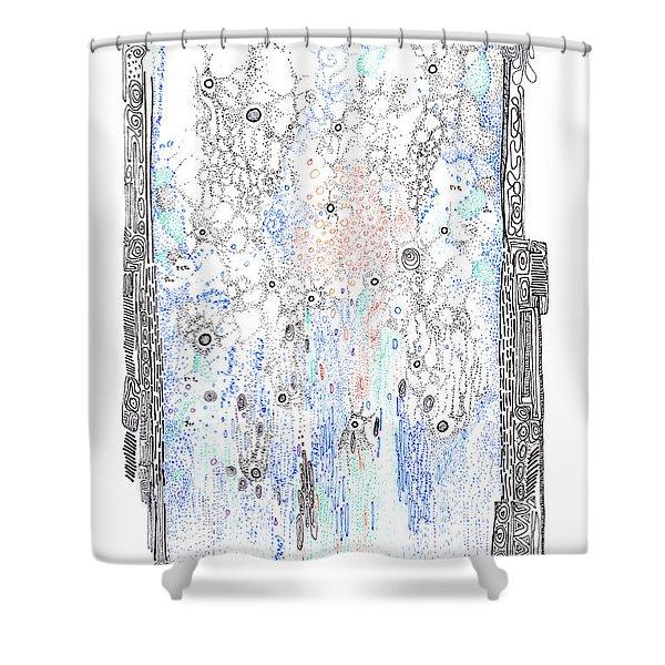 Bingham Fluid Or Paste Shower Curtain