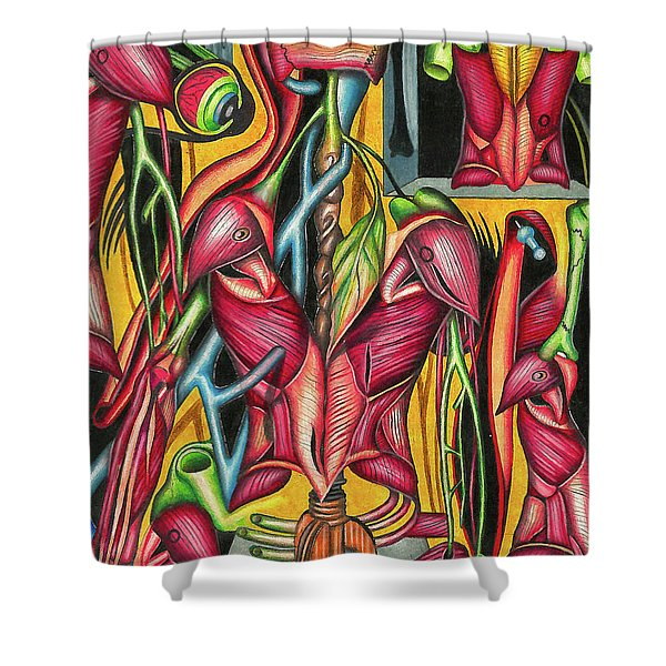 Biological Fusion Shower Curtain