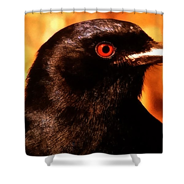 Bird Friend  Shower Curtain