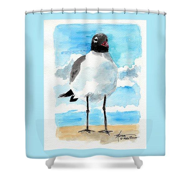 Bird Legs Shower Curtain