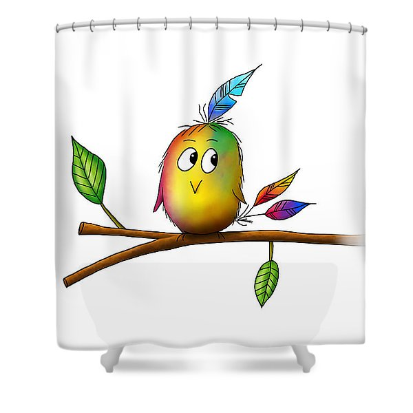 Birdy Shower Curtain