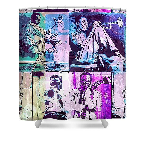 Birth Of The Cool Shower Curtain
