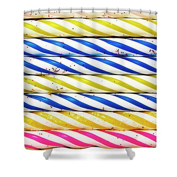 Birthday Background Shower Curtain