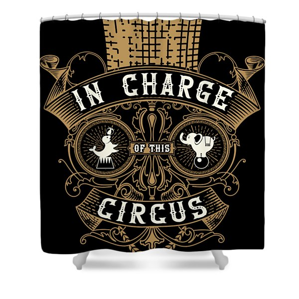 Birthday Circus Carnival Party Apparel Shower Curtain