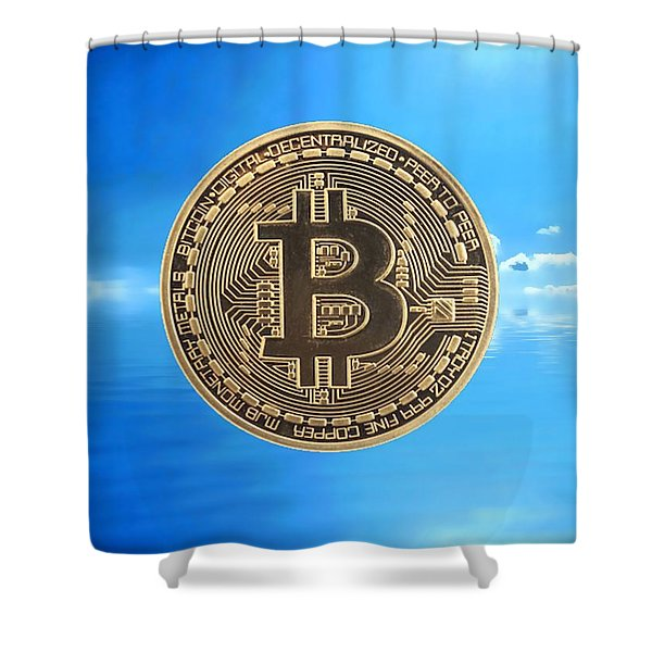 Bitcoin Revolution Shower Curtain