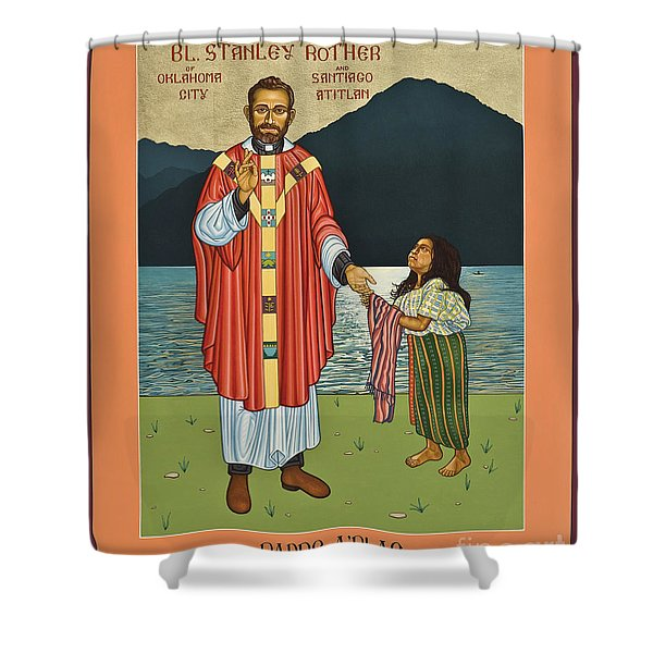 Bl. Stanley Rother - Lwsro Shower Curtain