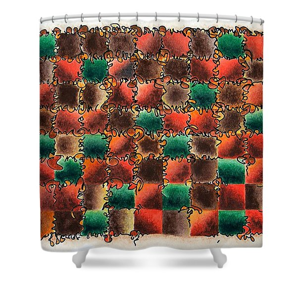 Black Forest Cake Shower Curtain