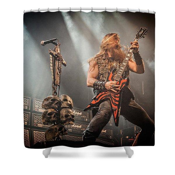 Black Label Society II Shower Curtain