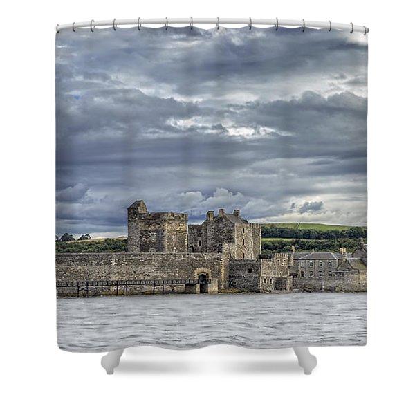 Blackness Castle Shower Curtain