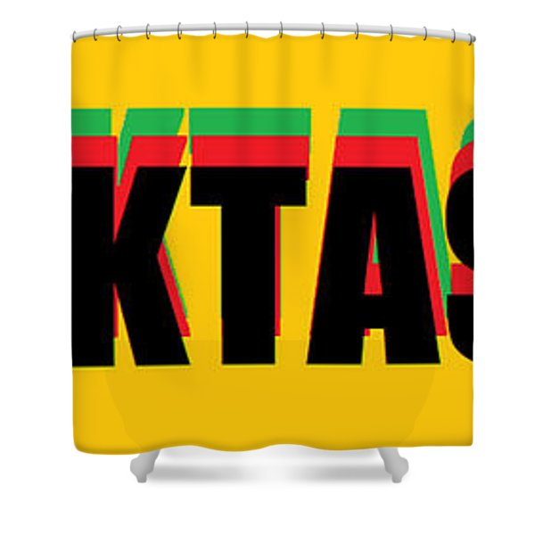 Blacktastik Shower Curtain