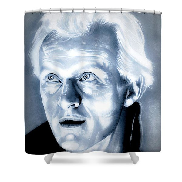 Blade Runner Roy Batty Shower Curtain