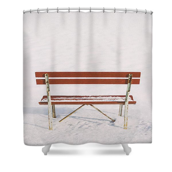 Blank Slate Shower Curtain