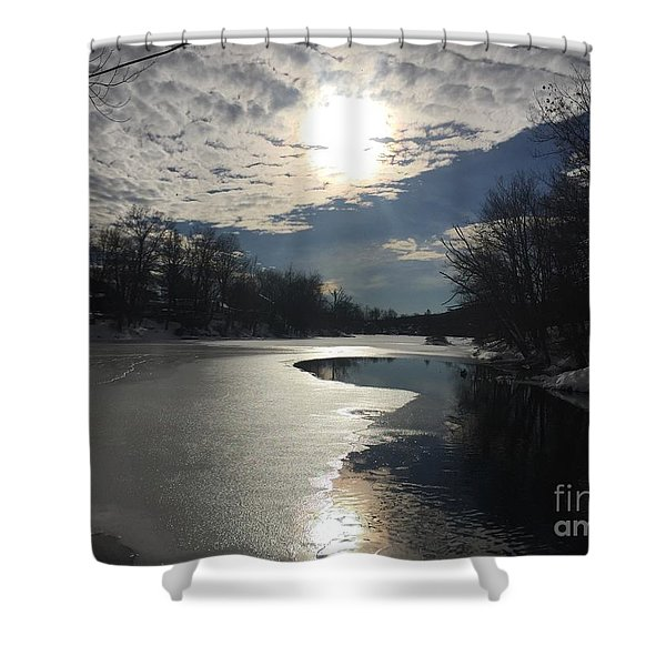 Blanket Of Clouds Shower Curtain