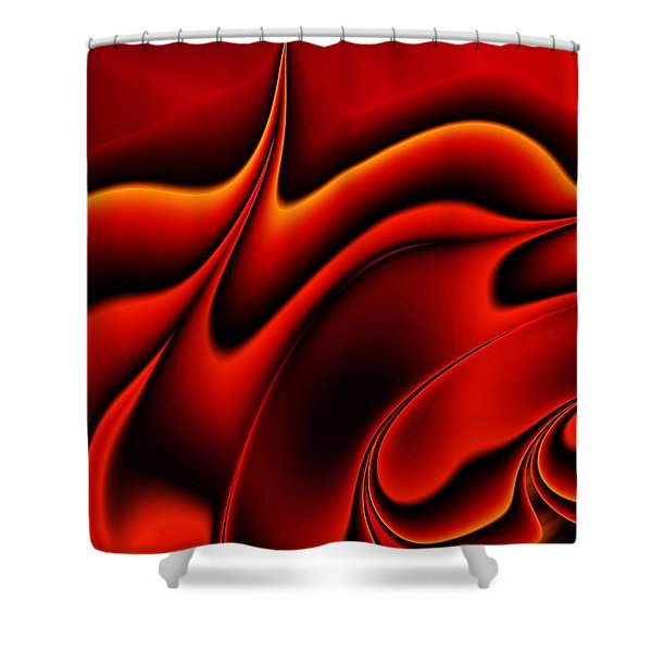 Blaze Shower Curtain