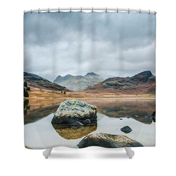 Blea Tarn In Cumbria Shower Curtain