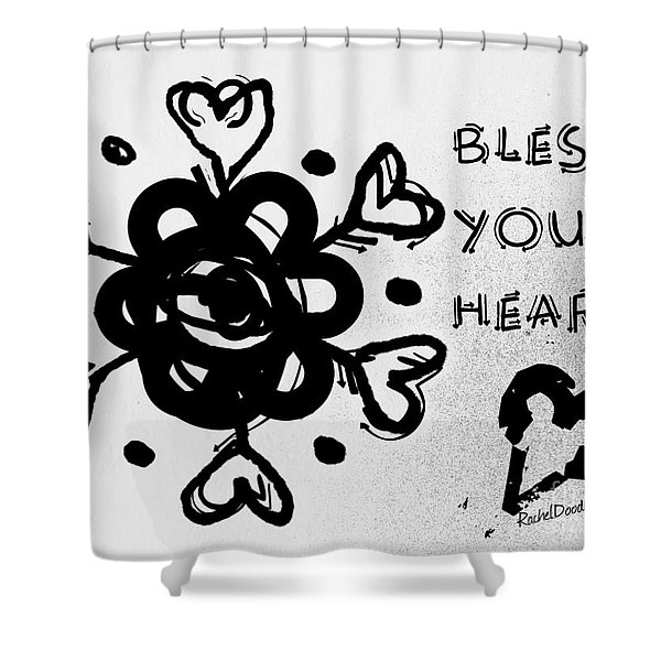 Bless Your Heart Shower Curtain