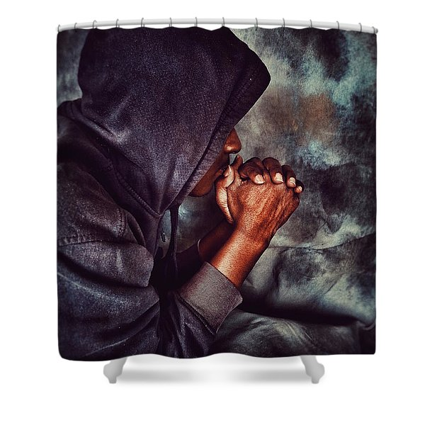Blessed Are Higher Thoughts Shower Curtain