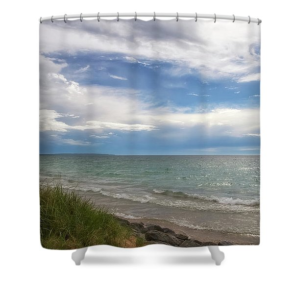 Shower Curtain featuring the photograph Blessed by Heather Kenward