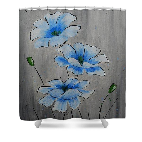 Bleuming Shower Curtain