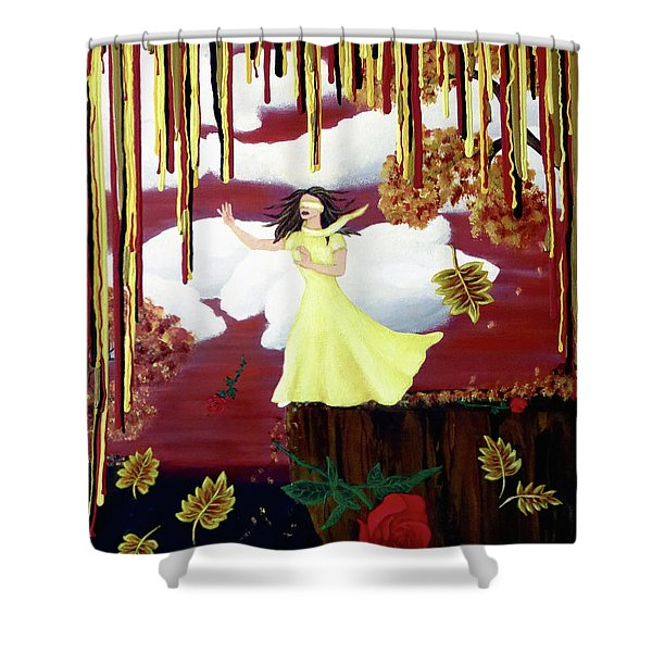 Blinded By Love Shower Curtain