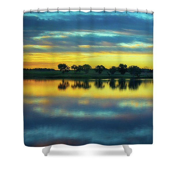 Shower Curtain featuring the photograph Bliss by John De Bord