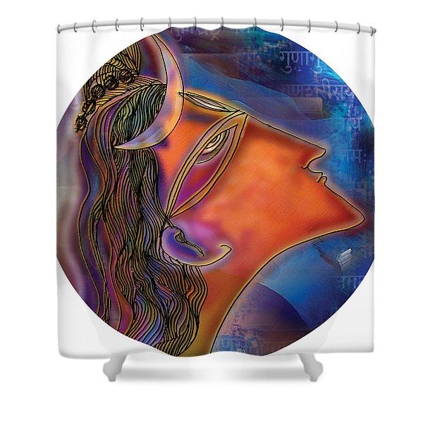 Bliss Shiva Shower Curtain