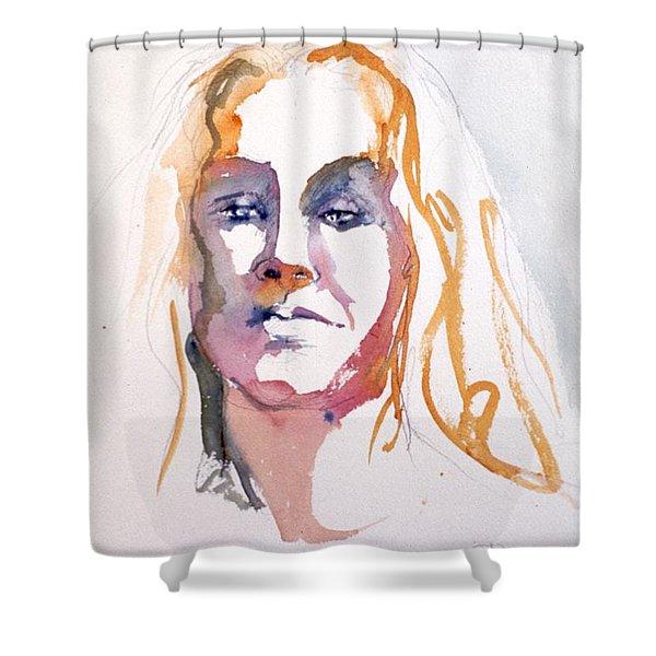 Blonde #1 Shower Curtain